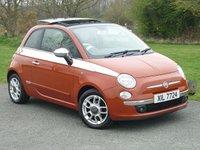 USED 2008 FIAT 500 1.2 POP 3d 69 BHP