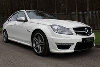 2011 MERCEDES-BENZ C CLASS 6.2 C63 AMG EDITION 125 4d AUTO 457 BHP £24500.00