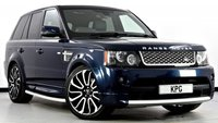 USED 2013 62 LAND ROVER RANGE ROVER SPORT 3.0 SD V6 Autobiography Sport 4X4 5dr Auto [8] Stunning Looks with Great Spec