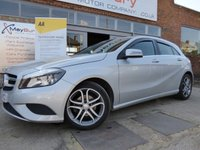 USED 2015 65 MERCEDES-BENZ A CLASS 1.5 A180 CDI BLUEEFFICIENCY SPORT 5d 109 BHP GREAT VALUE DIESEL SPORT MODEL WITH FSH