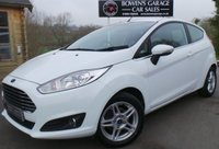 USED 2013 13 FORD FIESTA 1.0 ZETEC 3d 79 BHP 2 Lady Owners - FREE Tax - 5 Services - Bluetooth