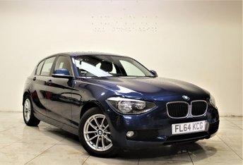 2014 BMW 1 SERIES 1.6 116D EFFICIENTDYNAMICS BUSINESS 5d 114 BHP £8999.00