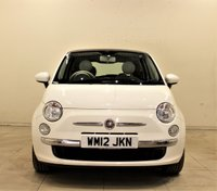 USED 2012 12 FIAT 500 1.2 LOUNGE 3d 69 BHP + 1 PREV OWNER  + SERVICE HISTORY + AIR CON + AUX