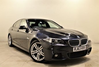 2013 BMW 5 SERIES 2.0 520D M SPORT 4d AUTO 181 BHP £14999.00