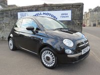 2013 FIAT 500 1.2i Lounge S/S - 2013 (13 plate) £5250.00
