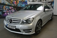 2012 MERCEDES-BENZ C CLASS 2.1 C250 CDI BLUEEFFICIENCY AMG SPORT PLUS 5d AUTO 202 BHP £11994.00