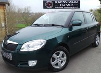 USED 2008 08 SKODA FABIA 1.4 GREENLINE TDI 5d 79 BHP 8 Service Stamps - £30 Tax - Local Part Exchange to Clear