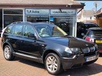 2004 BMW X3 2.5 SE 5d 190 BHP £3495.00
