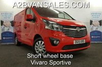 USED 2015 15 VAUXHALL VIVARO 1.6 2700 L1H1 CDTI P/V SPORTIVE 1d 118 BHP *Over The Phone Low Rate Finance Available*   *UK Delivery Can Also Be Arranged*           ___________       Call us on 01709 866668 or Send us a Text on 07462 824433