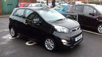 USED 2015 15 KIA PICANTO 1.0 2 5d 68 BHP CHEAP TO RUN WITH £0 TAX AND EXCELLENT FUEL ECONOMY! ALSO EXCELLENT SPECIFICATION WITH AIR CONDITIONING, BLUETOOTH, AUXILLIARY INPUT, MEDIA CONNECTIVITY, AND TRACTION CONTROL!  ALSO KIA WARRANTY!