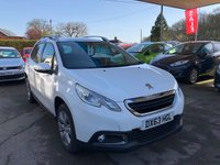 USED 2013 63 PEUGEOT 2008 1.2 ACTIVE 5d 82 BHP NEED FINANCE? WE STRIVE FOR 94% ACCEPTANCE