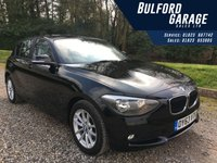 USED 2013 63 BMW 1 SERIES 1.6 116I SE 5d 135 BHP