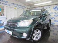 2005 TOYOTA RAV4 2.0 XT4 VVT-I 5d 147 BHP £3695.00