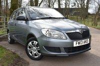 2013 SKODA FABIA 1.2 S 12V 5d 60 BHP £4495.00