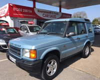 2000 LAND ROVER DISCOVERY 2.5 TD5 S 5d 136 BHP 7 SEATER 1 YEAR MOT £2995.00
