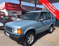 USED 2000 X LAND ROVER DISCOVERY 2.5 TD5 S 5d 136 BHP 7 SEATER