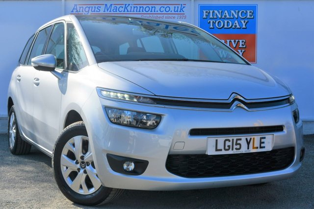 2015 15 CITROEN C4 GRAND PICASSO 1.6 E-HDI VTR PLUS 5d Great High 70mpg 7 Seat Family MPV with Low Tax