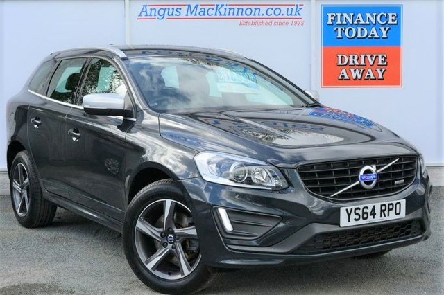2015 64 VOLVO XC60 2.0 D4 R-DESIGN LUX NAV Lovely High Spec Rare Manual 5dr SUV