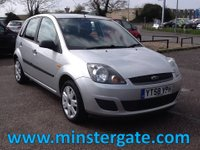 2008 FORD FIESTA 1.4 STYLE CLIMATE 16V 5d 68 BHP * HISTORY, £30 TAX * £1790.00