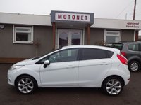 USED 2010 10 FORD FIESTA 1.4 TITANIUM 5DR HATCHBACK  96 BHP ++++SPRING SALE NOW ON+++