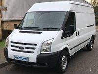2013 FORD TRANSIT TREND 2.2 FWD 350 LWB MEDIUM ROOF 125 BHP 6 SPEED £6995.00