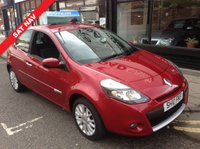 USED 2010 10 RENAULT CLIO 1.1 DYNAMIQUE TOMTOM 16V 3d 74 BHP