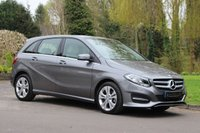 USED 2016 66 MERCEDES-BENZ B CLASS 2.1 B 200 D SPORT EXECUTIVE 5d AUTO 134 BHP