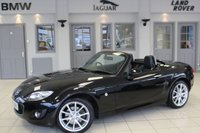 USED 2011 60 MAZDA MX-5 2.0 I ROADSTER SPORT TECH 2d 158 BHP FULL BLACK LEATHER SEATS + FULL SERVICE HISTORY + CRUISE CONTROL + 17 INCH ALLOYS + HEATED FRONT SEATS + AUTOMATIC AIR CONDITIONING + AUX PORT