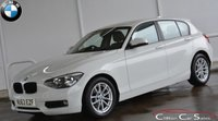 2013 BMW 1 SERIES 116d EFFICIENTDYNAMICS BUSINESS 5 DOOR 6-SPEED 114 BHP £SOLD