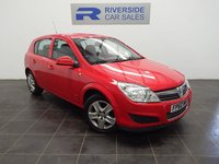 USED 2010 60 VAUXHALL ASTRA 1.4 ACTIVE 5d 88 BHP