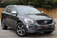 USED 2014 14 VOLVO XC60 2.4 D4 R-DESIGN LUX AWD 5d 178 BHP ***FULL LEATHER & HEATED SEATS***
