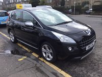 USED 2012 12 PEUGEOT 3008 1.6 SPORTIUM HDI FAP 5d 112 BHP PRICE INCLUDES A 6 MONTH AA WARRANTY DEALER CARE EXTENDED GUARANTEE, 1 YEARS MOT AND A OIL & FILTERS SERVICE. 6 MONTHS FREE BREAKDOWN COVER.