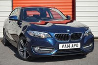USED 2014 14 BMW 2 SERIES 2.0 218D SPORT 2d 141 BHP