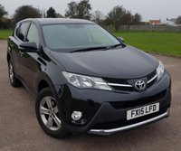 2015 TOYOTA RAV4 2.0 D-4D BUSINESS EDITION 5d 124 BHP £14795.00