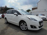 USED 2014 14 PEUGEOT 5008 1.6 HDI ACTIVE 5d 115 BHP ***7 SEATER - LOW MILES***