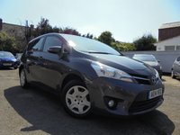 USED 2014 14 TOYOTA VERSO 1.6 VALVEMATIC ACTIVE 5d 131 BHP ***7 SEATER***