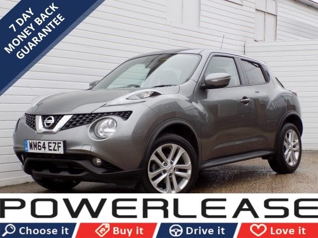 USED 2015 64 NISSAN JUKE 1.5 ACENTA DCI 5d 110 BHP 1OWNER CRUISE CONT BLUETOOTH