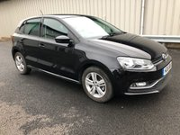 USED 2016 16 VOLKSWAGEN POLO 1.2 MATCH TSI PETROL 5 DOOR 89 BHP MANUAL 1 LADY OWNER, VW HISTORY, JUST 12K MILES