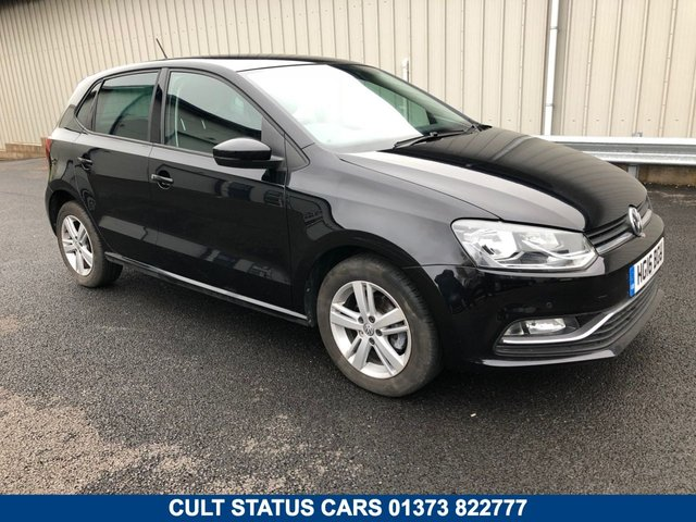 2016 16 VOLKSWAGEN POLO 1.2 MATCH TSI PETROL 5 DOOR 89 BHP MANUAL