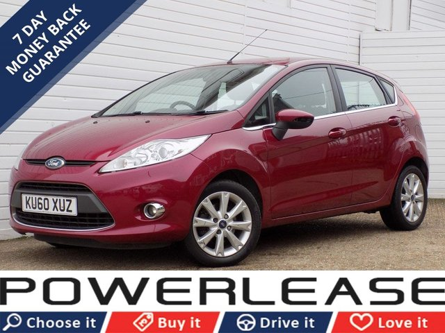 USED 2010 60 FORD FIESTA 1.4 ZETEC 16V 5d 96 BHP HEATED FRONT SCREEN AUX INPUT