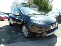 USED 2012 12 RENAULT CLIO 1.1 DYNAMIQUE TOMTOM 16V 5d 75 BHP