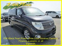 USED 2008 57 NISSAN ELGRAND  Highway Star 3.5 Black Leather Edition, Automatic,8 Seats,Only 62k +62K+RARE BLACK LEATHER EDITION+