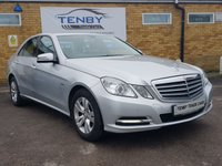 2012 MERCEDES-BENZ E CLASS 2.1 E220 CDI BLUEEFFICIENCY S/S SE 4d AUTO 170 BHP £10984.00