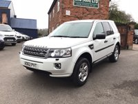 2013 LAND ROVER FREELANDER 2.2 TD4 GS 5d 150 BHP £12500.00