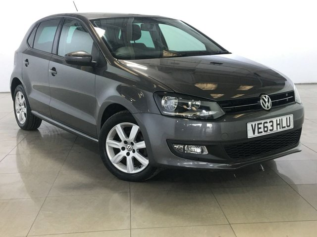View our 2014 63 VOLKSWAGEN POLO 1.2 MATCH EDITION TDI 5d 74 BHP