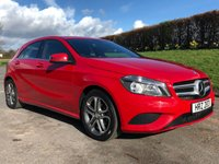 2014 MERCEDES-BENZ A CLASS 1.5 A180 CDI BLUEEFFICIENCY SPORT 5d 109 BHP £11995.00