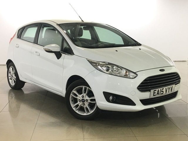 View our 2015 15 FORD FIESTA 1.6 ZETEC 5d AUTO 104 BHP