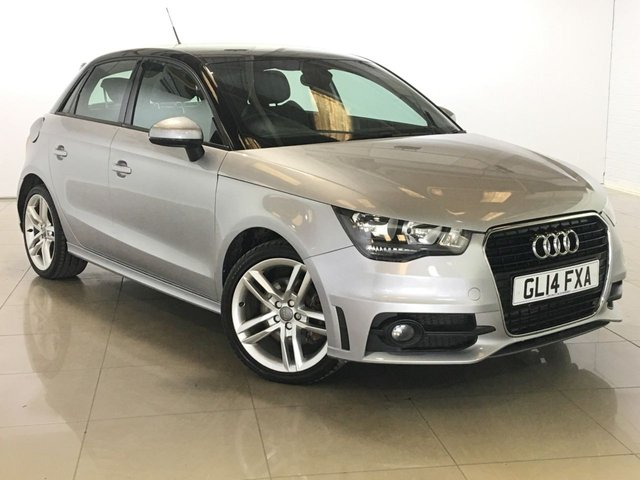 View our 2014 14 AUDI A1 1.6 SPORTBACK TDI S LINE 5d 105 BHP