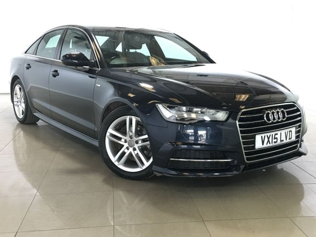 View our 2015 15 AUDI A6 2.0 TDI ULTRA S LINE 4d AUTO 188 BHP
