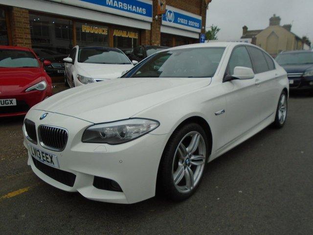 2013 13 BMW 5 SERIES 2.0 520D M SPORT 4d AUTO 181 BHP